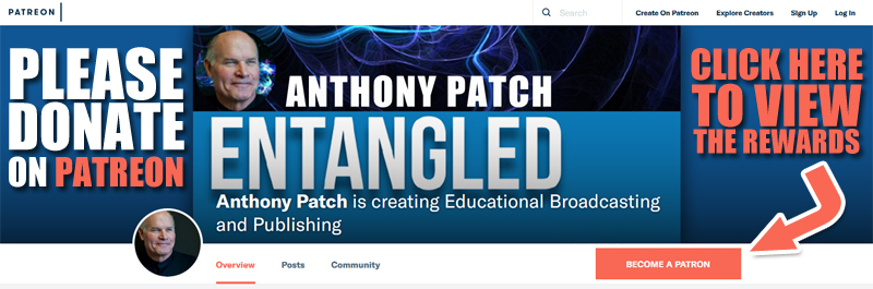 Anthony Patch on Patreon